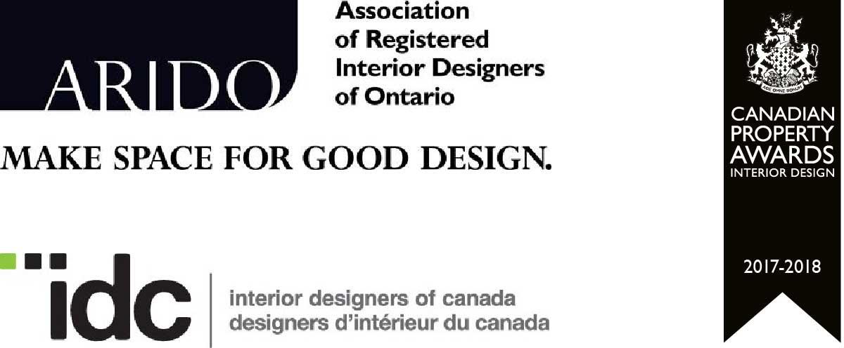 ARIDO logo, IDC logo, Canadian Property Awards Logo