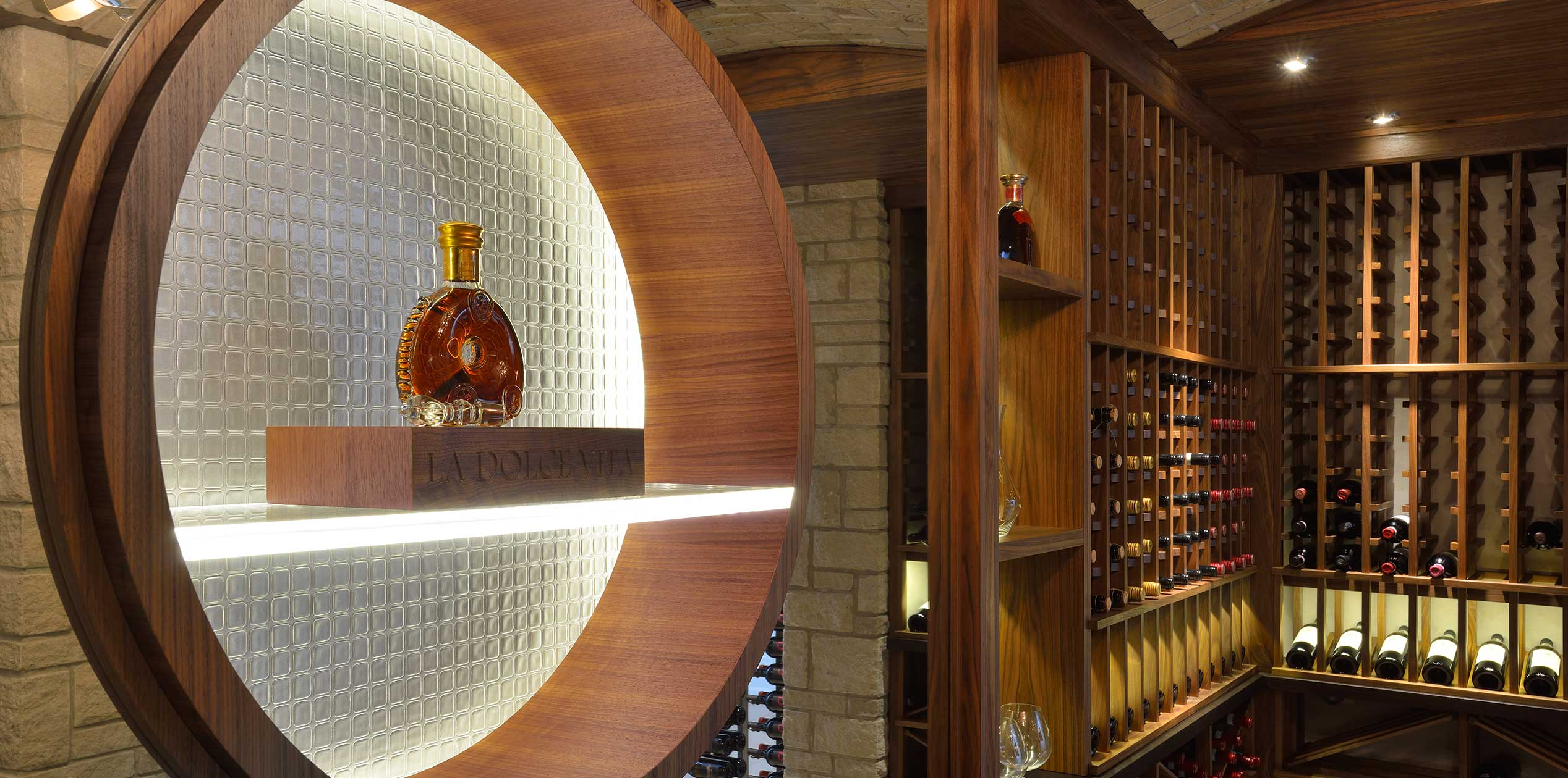 b Transitional Wine cellar