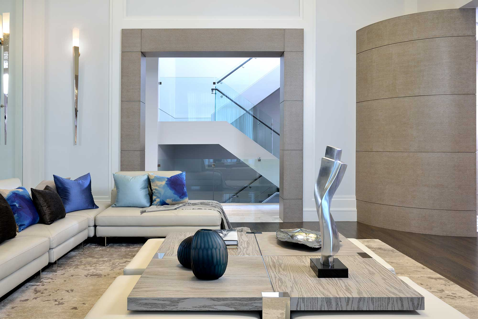 Contemporary Great Room 3