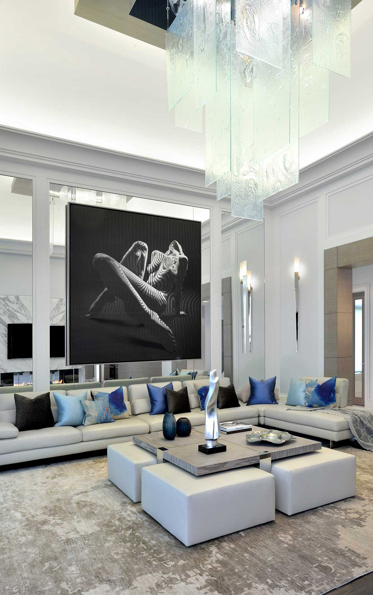 Contemporary Great Room 4