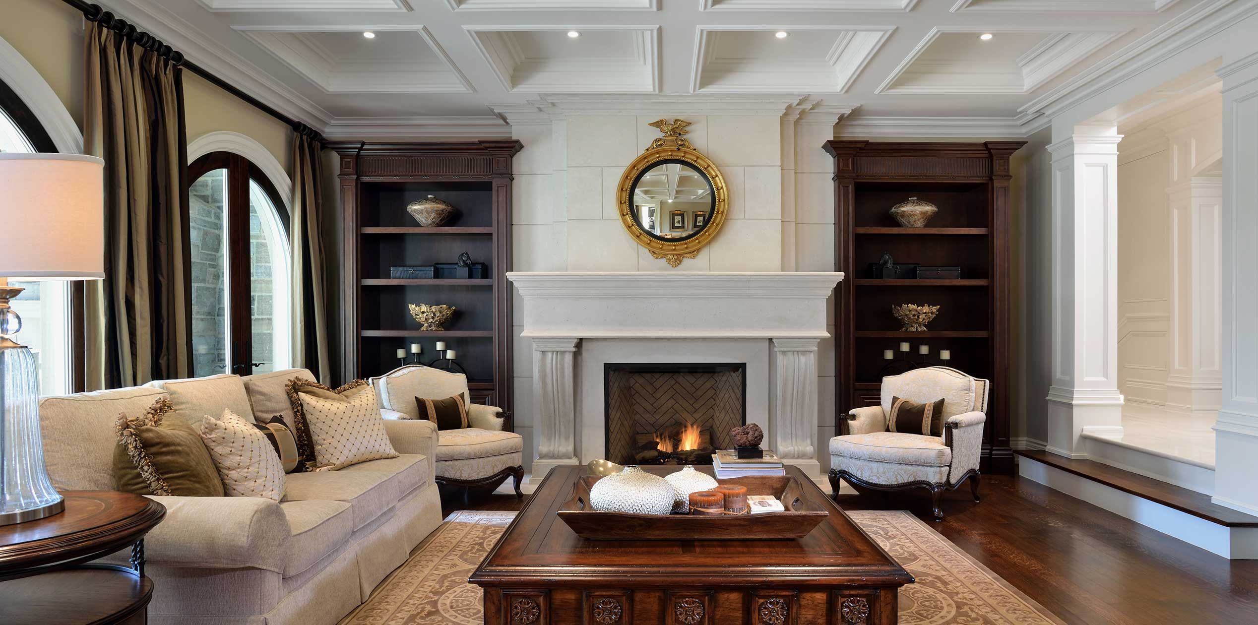 c Traditional Family room
